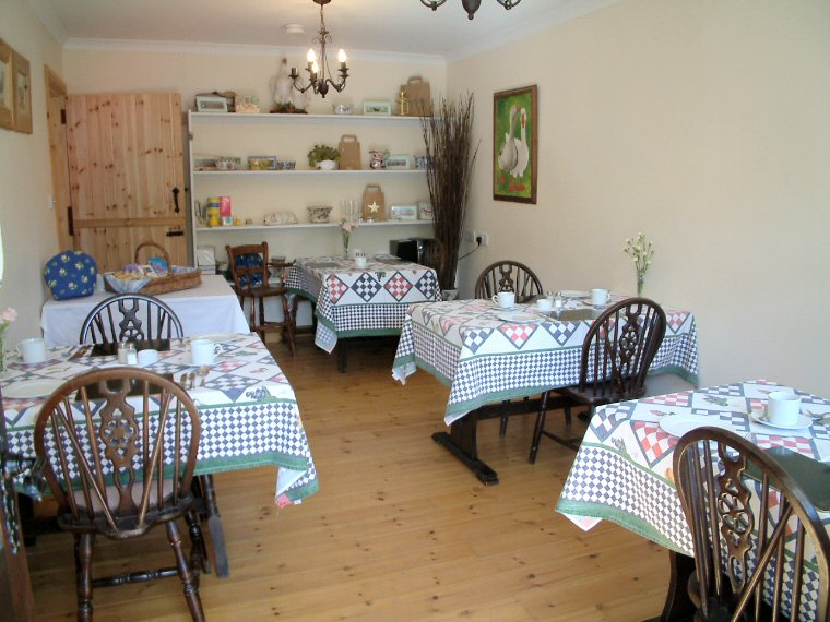 This is where you can sit in comfort and enjoy our home cooked full English Breakfast